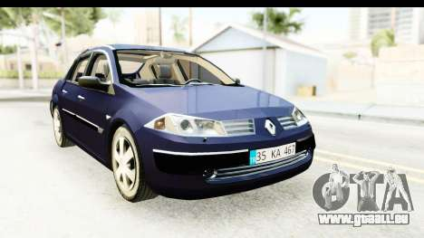 Renault Megane 2 Sedan 2003 v2 für GTA San Andreas rechten Ansicht