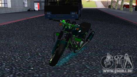 Jawa 350 638 Sports pour GTA San Andreas