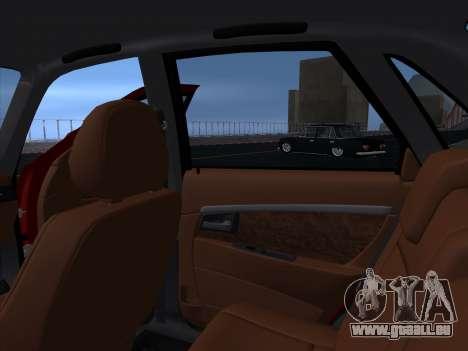 VAZ 2170 STANCE für GTA San Andreas Seitenansicht