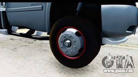 Chevrolet Silverado 2011 pour GTA San Andreas vue arrière