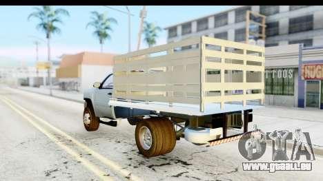 Chevrolet Silverado 2011 pour GTA San Andreas laissé vue
