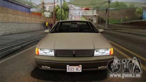 Declasse Premier 1992 SA Style für GTA San Andreas Innenansicht