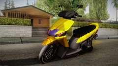 Honda Vario Yellow Shines