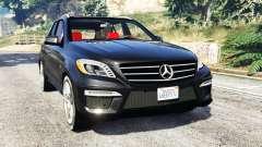 Mercedes-Benz ML63 AMG (W166) 2015 [replace] pour GTA 5