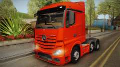 Mercedes-Benz Actros Mp4 6x2 v2.0 Steamspace v2