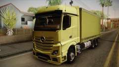 Mercedes-Benz Actros Mp4 v2.0 Tandem Big pour GTA San Andreas