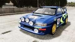 Subaru Rally WRC Impreza 98 v8