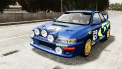 Subaru Rally WRC Impreza 98 v8 pour GTA 4