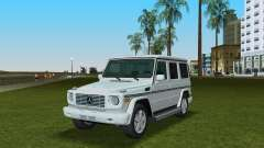 Mercedes-Benz G500 W463 2008 pour GTA Vice City