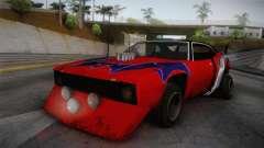 Ford Falcon 1972 Red Bat