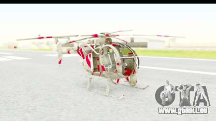 Smaga Sparrow Helis Military Version für GTA San Andreas