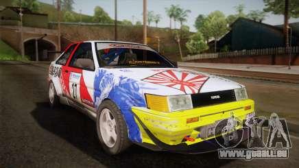 Toyota AE86 2 Door Levin für GTA San Andreas