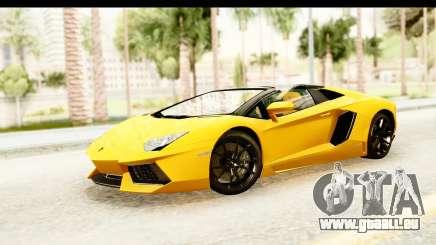 Lamborghini Aventador LP700-4 Roadster v2 für GTA San Andreas