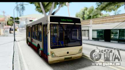Metrobus de la Ciudad de Mexico für GTA San Andreas