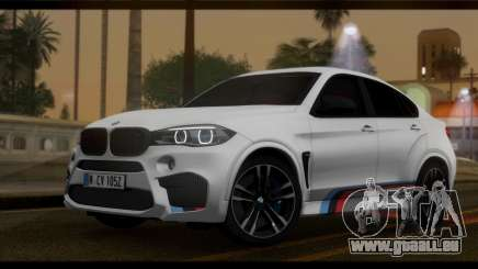 BMW X6M F86 M Performance pour GTA San Andreas