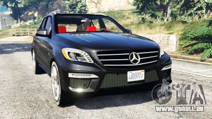Mercedes-Benz ML63 AMG (W166) 2015 [replace] pour GTA 5