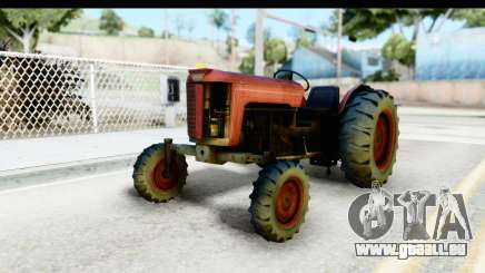 Fireflys Tractor pour GTA San Andreas