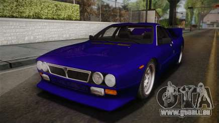 Lancia Rally 037 Stradale (SE037) 1982 IVF Dirt1 pour GTA San Andreas
