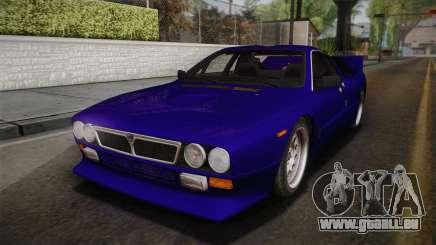 Lancia Rally 037 Stradale (SE037) 1982 IVF Dirt1 für GTA San Andreas