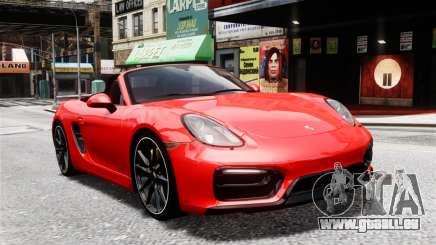 Porsche Boxster GTS 2014 für GTA 4