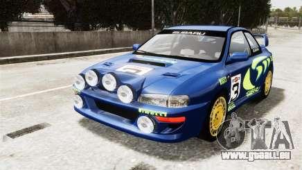 Subaru Rally WRC Impreza 98 v8 für GTA 4