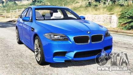 BMW M5 (F10) 2012 [replace] pour GTA 5
