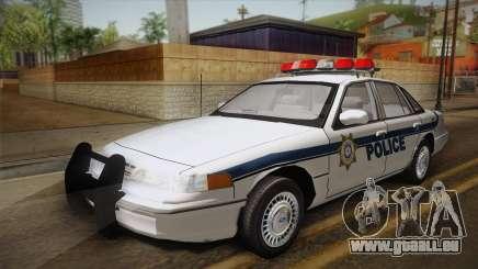 Ford Crown Victoria 1997 El Quebrados Police für GTA San Andreas
