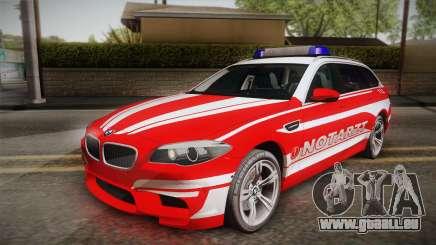 BMW M5 Touring NEF pour GTA San Andreas