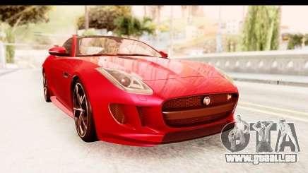 Jaguar F-Type R Coupe 2015 pour GTA San Andreas