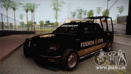 Ford F-150 de la Fuerza Civil de Nuevo Leon für GTA San Andreas