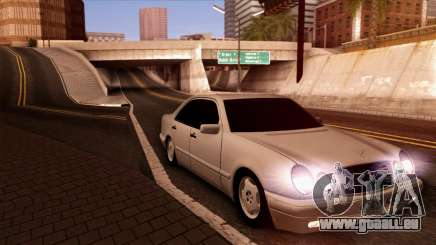 Mercedes-Benz E420 black pour GTA San Andreas