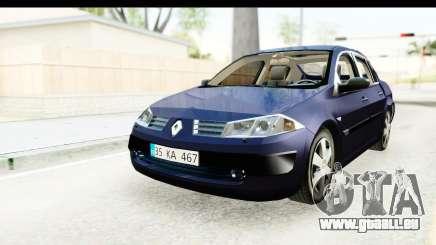 Renault Megane 2 Sedan 2003 v2 pour GTA San Andreas