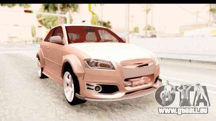 Audi S3 Slaam pour GTA San Andreas