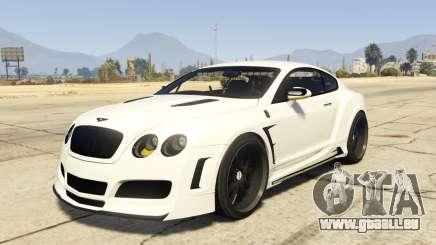 Undercover Bentley Continetal GT 1.0 pour GTA 5