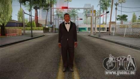 GTA 5 Franklin Tuxedo v2 pour GTA San Andreas deuxième écran