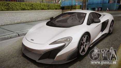 McLaren 675LT 2015 5-Spoke Wheels für GTA San Andreas