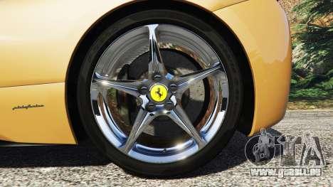 GTA 5 Ferrari 458 Italia [add-on] hinten rechts