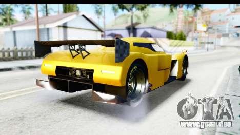 GTA 5 Annis RE-7B pour GTA San Andreas laissé vue
