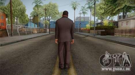 GTA 5 Franklin Tuxedo v2 pour GTA San Andreas troisième écran