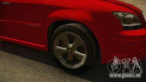 GTA 5 Emperor Habanero für GTA San Andreas Rückansicht