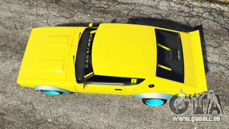 GTA 5 Nissan Skyline GT-R C110 Liberty Walk [add-on] Rückansicht