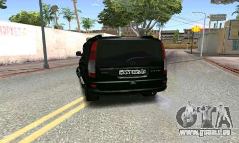 Mercedes-Benz Vito pour GTA San Andreas sur la vue arrière gauche
