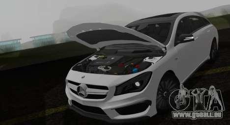 Mercedes-Benz CLA 45 AMG pour GTA San Andreas vue de droite