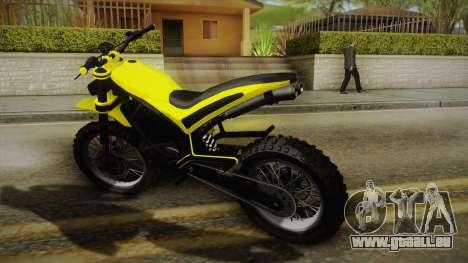 GTA 5 Epic Maibatsu Manchez pour GTA San Andreas laissé vue