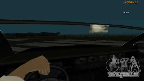Sultan Kaefoon für GTA San Andreas Innenansicht