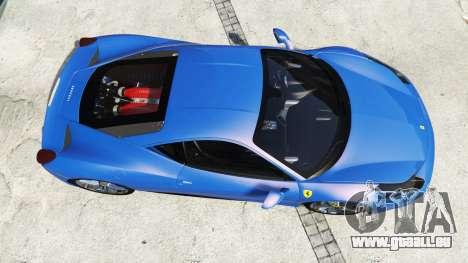 GTA 5 Ferrari 458 Italia v2.0 [replace] Rückansicht
