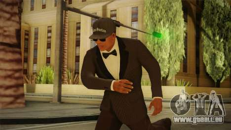 GTA 5 Franklin Tuxedo v4 pour GTA San Andreas