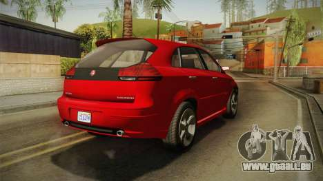 GTA 5 Emperor Habanero für GTA San Andreas rechten Ansicht
