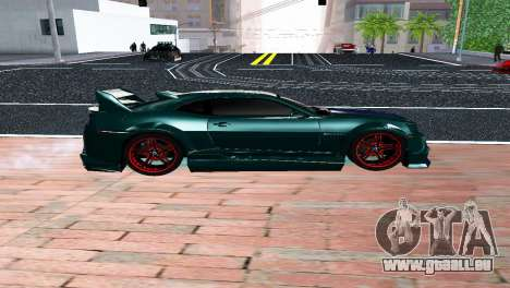 CHEVROLET CAMARO SS LIGHT TUNING für GTA San Andreas linke Ansicht