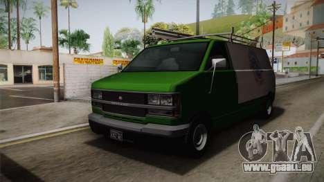 GTA 4 Burrito pour GTA San Andreas vue de droite